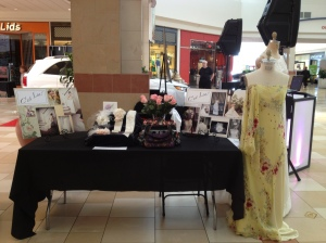 Table at Ocean County Mall, April 13, 2013