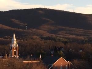 Pretty mountains around Wytheville